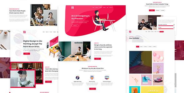 Fian – Creative PSD Template