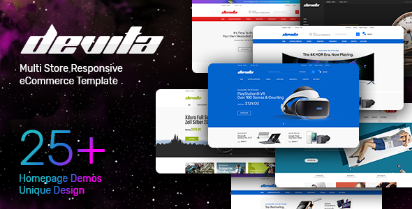 Multipurpose Responsive HTML Template - Devita