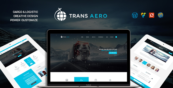 TransAero - Transport & Logistics WordPress Theme
