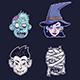 Halloween Monster Set - GraphicRiver Item for Sale