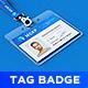 Lanyard / Name Tag Badge MockUp - GraphicRiver Item for Sale