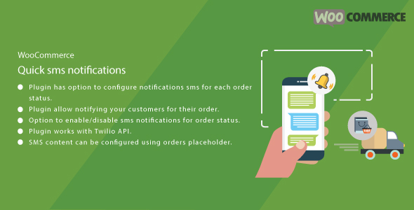 WordPress WooCommerce Quick SMS Notification
