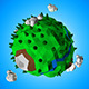 Lowpoly Forest Planet - 3DOcean Item for Sale