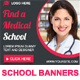 Medical School Animated HTML5 Banner Ads (GWD) - CodeCanyon Item for Sale