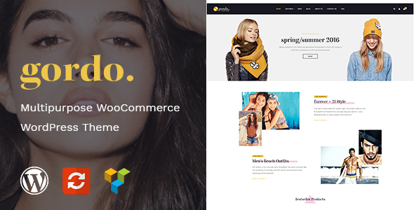 Gordo - Fashion Responsive WooCommerce WordPress Theme