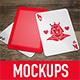 5 Poker Card Mockups - GraphicRiver Item for Sale