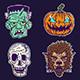 Halloween Monster Set 2 - GraphicRiver Item for Sale