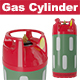 Gas Cylinder - 3DOcean Item for Sale