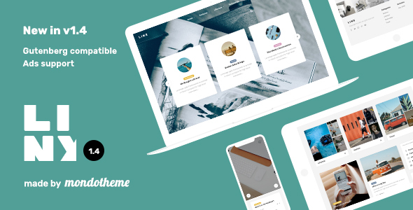 Linx - WordPress Blog & Magazine Theme