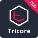 Tricore - Creative PSD Template - ThemeForest Item for Sale