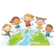 Kids Round the Globe - GraphicRiver Item for Sale
