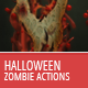 Halloween and Horror - Zombie Actions - GraphicRiver Item for Sale