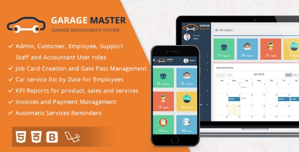 Garage Master - Garage Management System Download