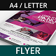 Dance Studio and Tutoring Services Flyer - GraphicRiver Item for Sale