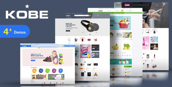 Kobe – Kids Toys Electronics Store HTML Template