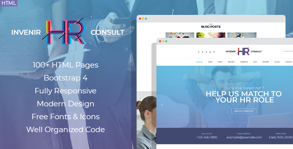 Hr Templates from ThemeForest