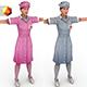 "Nurse ""Different forms"" - 3DOcean Item for Sale"
