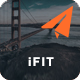 iFIT - Responsive Email Template With Online Stampready Builder Access