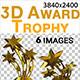 3D Award Trophy - GraphicRiver Item for Sale