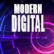 Futuristic Digital Technology Logo Pack