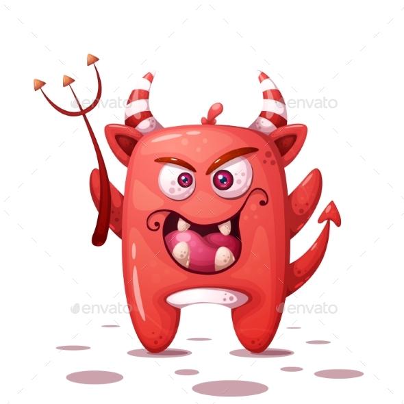 Devil Character Halloween