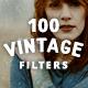 100 Vintage Old Photo Filter Template - GraphicRiver Item for Sale