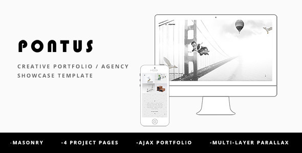 Pontus - Creative Portfolio / Agency WordPress Theme