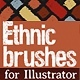 Ethnic brushes - GraphicRiver Item for Sale