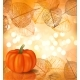 Festive Background with Pumpkin - GraphicRiver Item for Sale