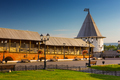 One of Towers of Kazan Kremlin, Medieval Russian Fortress, Kazan, Russia - PhotoDune Item for Sale