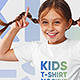 Kids Girl T-Shirt Mockups Vol 2. Part 1 - GraphicRiver Item for Sale
