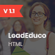 LeadEduco - Education HTML Landing Page Template - ThemeForest Item for Sale