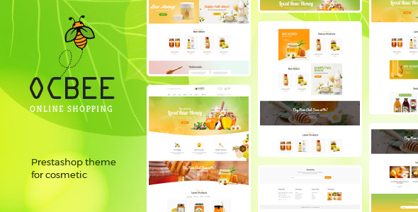 Bos Ocbee - Beauty & Cosmetics Prestashop 1.7 Theme