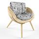 Parametric chair - 3DOcean Item for Sale