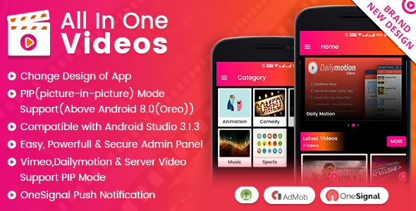 All In One Videos Cracked Codecanyon (7 17 MB) - Nulled Script Free