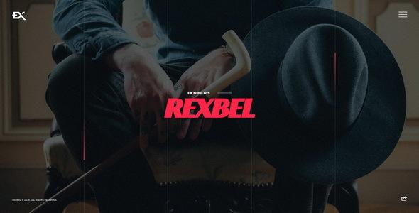 Rexbel - Photography Portfolio Template