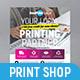 Printing Shop Flyer / Poster - GraphicRiver Item for Sale