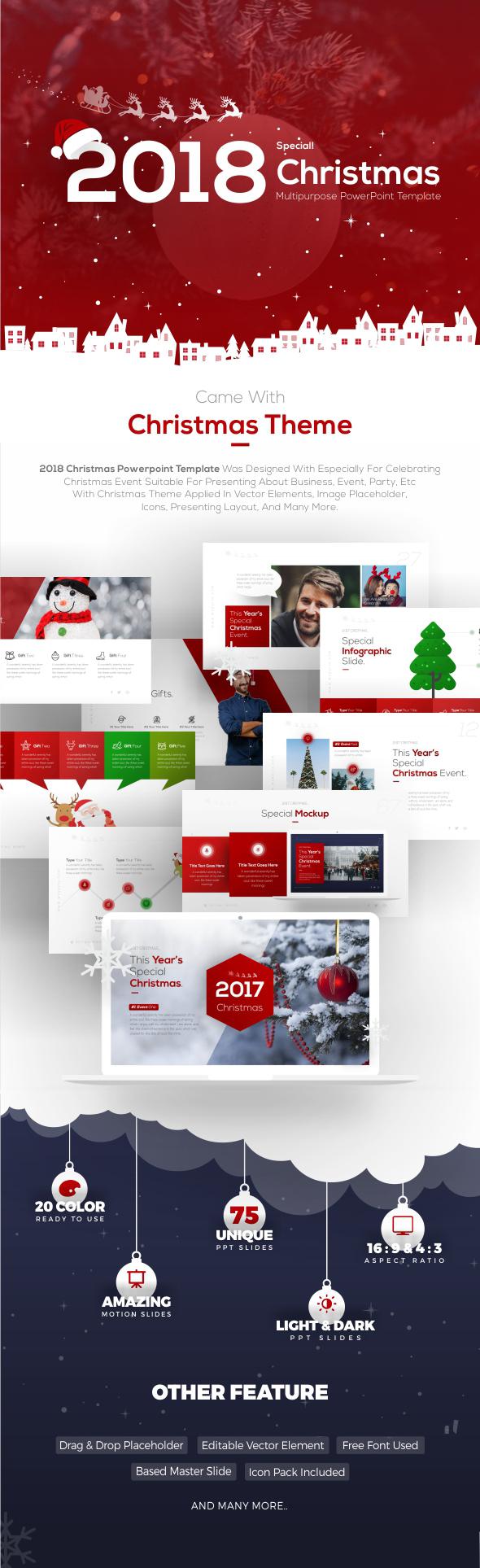 2018 Christmas Multipurpose Presentation Template