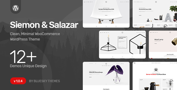 Siemon & Salazar - Clean, Minimal WooCommerce Theme