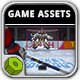 Hockey Shootout - Game Assets - GraphicRiver Item for Sale