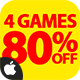 Mega Bundle 4 Games - iOS Xcode + Buildbox - CodeCanyon Item for Sale