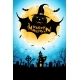 Halloween Background with Bat Monster - GraphicRiver Item for Sale