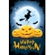 Halloween Illustration with Witch - GraphicRiver Item for Sale