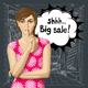 Vector Woman with Secret - GraphicRiver Item for Sale