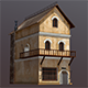 Medieval Fantasy House 2 - 3DOcean Item for Sale