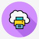 180 Cloud Computing Flat Line Icons - GraphicRiver Item for Sale