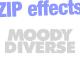 Zip (in 4 variations)