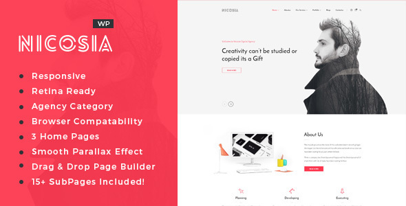 Nicosia - Online Marketing Agency WordPress Theme
