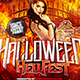 Halloween Hellfest Square Flyer Template - GraphicRiver Item for Sale