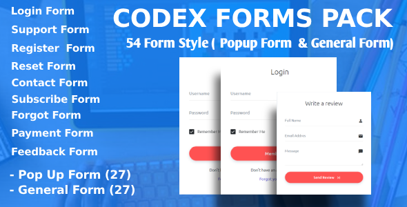 Codex Forms Pack